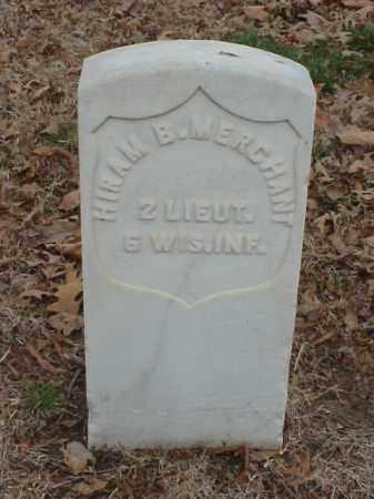 MERCHANT (VETERAN UNION), HIRAM B - Pulaski County, Arkansas   HIRAM B MERCHANT (VETERAN UNION) - Arkansas Gravestone Photos