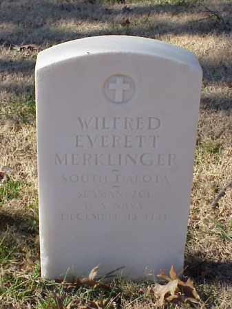 MERKLINGER (VETERAN WWI), WILFRED EVERETT - Pulaski County, Arkansas | WILFRED EVERETT MERKLINGER (VETERAN WWI) - Arkansas Gravestone Photos