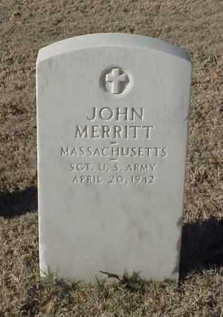 MERRITT (VETERAN WWI), JOHN - Pulaski County, Arkansas | JOHN MERRITT (VETERAN WWI) - Arkansas Gravestone Photos