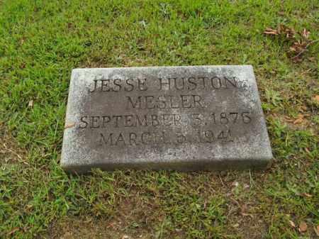 MESLER, JESSE HUSTON - Pulaski County, Arkansas   JESSE HUSTON MESLER - Arkansas Gravestone Photos