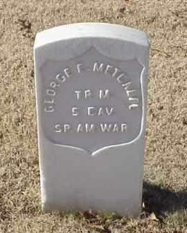 METCALF (VETERAN SAW), GEORGE E - Pulaski County, Arkansas | GEORGE E METCALF (VETERAN SAW) - Arkansas Gravestone Photos