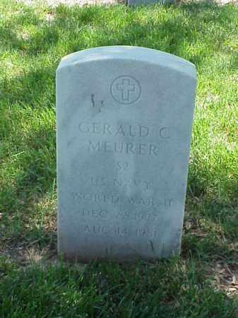 MEURER (VETERAN WWII), GERALD C - Pulaski County, Arkansas | GERALD C MEURER (VETERAN WWII) - Arkansas Gravestone Photos