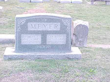 MEYER, GERTRUDE E - Pulaski County, Arkansas | GERTRUDE E MEYER - Arkansas Gravestone Photos
