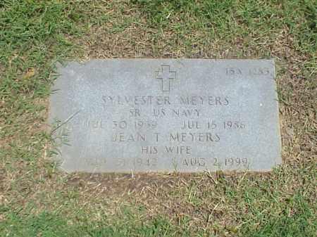 MEYERS, JEAN T - Pulaski County, Arkansas | JEAN T MEYERS - Arkansas Gravestone Photos