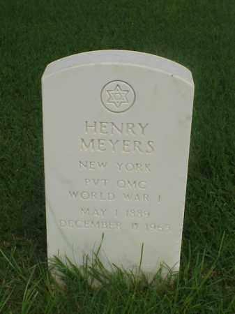 MEYERS (VETERAN WWI), HENRY - Pulaski County, Arkansas | HENRY MEYERS (VETERAN WWI) - Arkansas Gravestone Photos