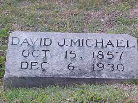 MICHAEL, DAVID J - Pulaski County, Arkansas | DAVID J MICHAEL - Arkansas Gravestone Photos
