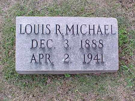 MICHAEL, LOUIS R - Pulaski County, Arkansas | LOUIS R MICHAEL - Arkansas Gravestone Photos