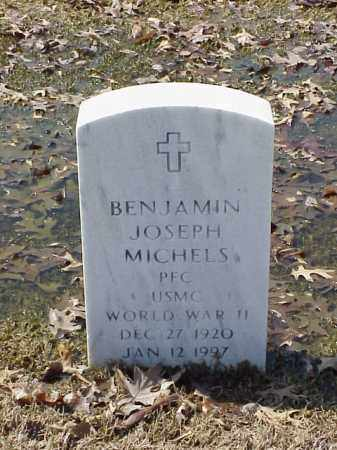 MICHELS (VETERAN WWII), BENJAMIN JOSEPH - Pulaski County, Arkansas | BENJAMIN JOSEPH MICHELS (VETERAN WWII) - Arkansas Gravestone Photos