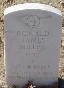 MILLER  (VETERAN), RONALD JAMES - Pulaski County, Arkansas | RONALD JAMES MILLER  (VETERAN) - Arkansas Gravestone Photos
