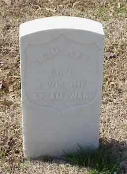 MILLER  (VETERAN SAW), FREDERICK E - Pulaski County, Arkansas | FREDERICK E MILLER  (VETERAN SAW) - Arkansas Gravestone Photos