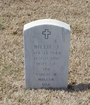 MILLER, BILLIE J - Pulaski County, Arkansas | BILLIE J MILLER - Arkansas Gravestone Photos