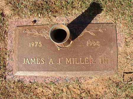 "MILLER, III, JAMES ""A J"" - Pulaski County, Arkansas 