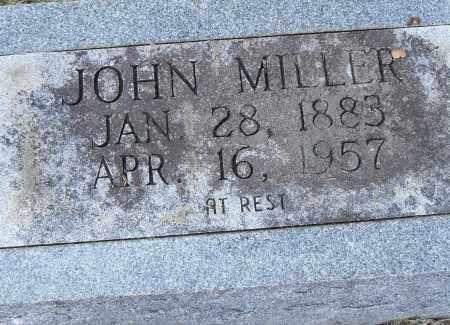 MILLER, JOHN - Pulaski County, Arkansas | JOHN MILLER - Arkansas Gravestone Photos