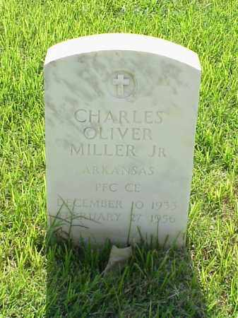 MILLER, JR (VETERAN KOR), CHARLES OLIVER - Pulaski County, Arkansas | CHARLES OLIVER MILLER, JR (VETERAN KOR) - Arkansas Gravestone Photos
