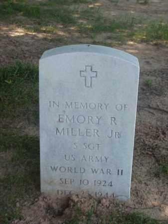 MILLER, JR (VETERAN WWII), EMORY R - Pulaski County, Arkansas | EMORY R MILLER, JR (VETERAN WWII) - Arkansas Gravestone Photos