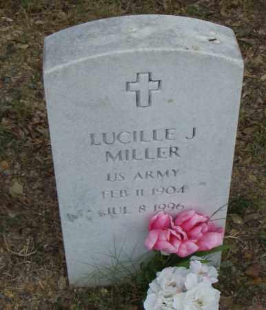 MILLER  (VETERAN), LUCILLE J. - Pulaski County, Arkansas   LUCILLE J. MILLER  (VETERAN) - Arkansas Gravestone Photos