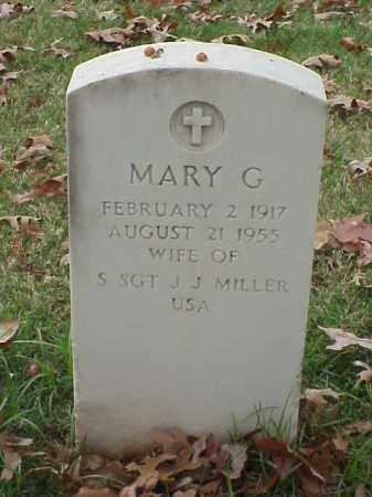 MILLER, MARY G - Pulaski County, Arkansas | MARY G MILLER - Arkansas Gravestone Photos