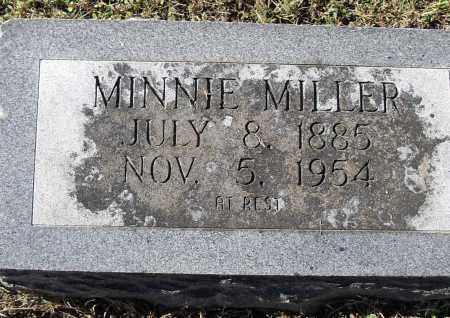 MILLER, MINNIE - Pulaski County, Arkansas | MINNIE MILLER - Arkansas Gravestone Photos