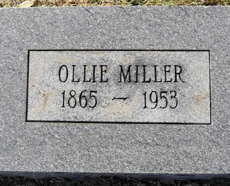 MILLER, OLLIE - Pulaski County, Arkansas   OLLIE MILLER - Arkansas Gravestone Photos
