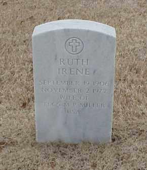 MILLER, RUTH IRENE - Pulaski County, Arkansas | RUTH IRENE MILLER - Arkansas Gravestone Photos
