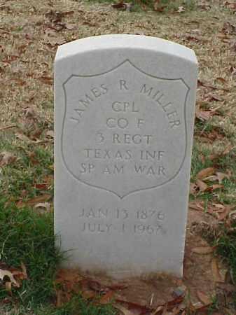 MILLER (VETERAN SAW), JAMES RALEIGH - Pulaski County, Arkansas | JAMES RALEIGH MILLER (VETERAN SAW) - Arkansas Gravestone Photos