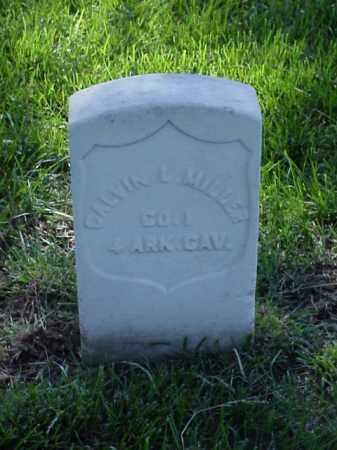 MILLER (VETERAN UNION), CALVIN L - Pulaski County, Arkansas | CALVIN L MILLER (VETERAN UNION) - Arkansas Gravestone Photos