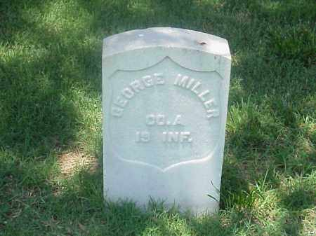 MILLER (VETERAN UNION), GEORGE - Pulaski County, Arkansas | GEORGE MILLER (VETERAN UNION) - Arkansas Gravestone Photos