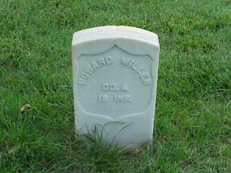 MILLER (VETERAN UNION), HOWARD - Pulaski County, Arkansas   HOWARD MILLER (VETERAN UNION) - Arkansas Gravestone Photos