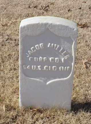 MILLER (VETERAN UNION), JACOB - Pulaski County, Arkansas | JACOB MILLER (VETERAN UNION) - Arkansas Gravestone Photos