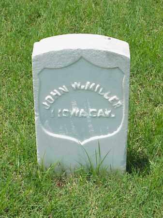 MILLER (VETERAN UNION), JOHN W - Pulaski County, Arkansas | JOHN W MILLER (VETERAN UNION) - Arkansas Gravestone Photos