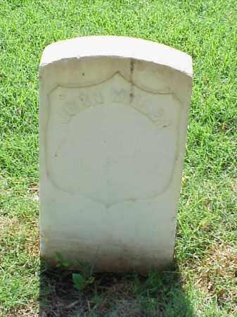 MILLER (VETERAN UNION), JOHN - Pulaski County, Arkansas | JOHN MILLER (VETERAN UNION) - Arkansas Gravestone Photos