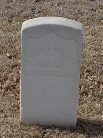 MILLER (VETERAN UNION), WARREN - Pulaski County, Arkansas | WARREN MILLER (VETERAN UNION) - Arkansas Gravestone Photos
