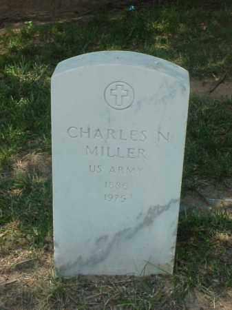 MILLER (VETERAN WWI), CHARLES N - Pulaski County, Arkansas   CHARLES N MILLER (VETERAN WWI) - Arkansas Gravestone Photos