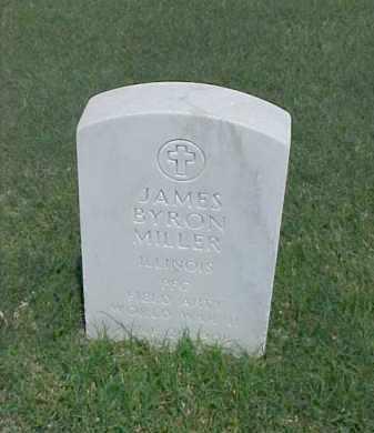 MILLER (VETERAN WWII), JAMES BYRON - Pulaski County, Arkansas | JAMES BYRON MILLER (VETERAN WWII) - Arkansas Gravestone Photos