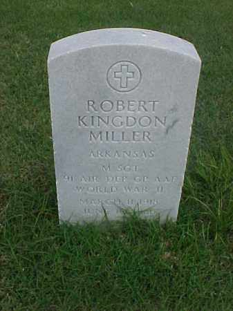 MILLER (VETERAN WWII), ROBERT KINGDON - Pulaski County, Arkansas | ROBERT KINGDON MILLER (VETERAN WWII) - Arkansas Gravestone Photos