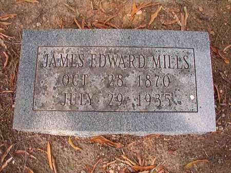 MILLS, JAMES EDWARD - Pulaski County, Arkansas | JAMES EDWARD MILLS - Arkansas Gravestone Photos
