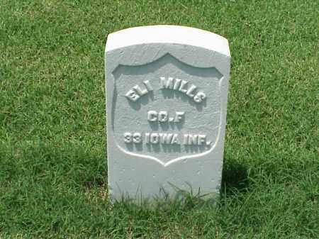 MILLS (VETERAN UNION), ELI - Pulaski County, Arkansas | ELI MILLS (VETERAN UNION) - Arkansas Gravestone Photos