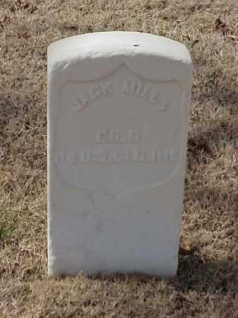 MILLS (VETERAN UNION), JACK - Pulaski County, Arkansas | JACK MILLS (VETERAN UNION) - Arkansas Gravestone Photos