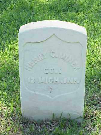 MINER (VETERAN UNION), HENRY C - Pulaski County, Arkansas | HENRY C MINER (VETERAN UNION) - Arkansas Gravestone Photos