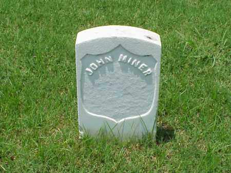 MINER (VETERAN UNION), JOHN - Pulaski County, Arkansas | JOHN MINER (VETERAN UNION) - Arkansas Gravestone Photos