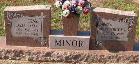 MINOR, JAMES LABAN - Pulaski County, Arkansas | JAMES LABAN MINOR - Arkansas Gravestone Photos