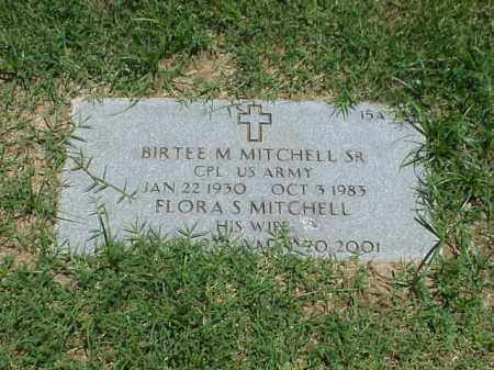 MITCHELL, FLORA S - Pulaski County, Arkansas | FLORA S MITCHELL - Arkansas Gravestone Photos