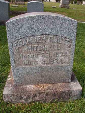 ROOTS MITCHELL, FRANCES - Pulaski County, Arkansas   FRANCES ROOTS MITCHELL - Arkansas Gravestone Photos
