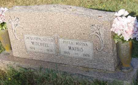 MATHIS, PAULA ROZINA - Pulaski County, Arkansas   PAULA ROZINA MATHIS - Arkansas Gravestone Photos