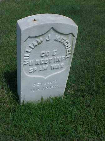 MITCHELL (VETERAN SAW), WILLIAM J - Pulaski County, Arkansas | WILLIAM J MITCHELL (VETERAN SAW) - Arkansas Gravestone Photos
