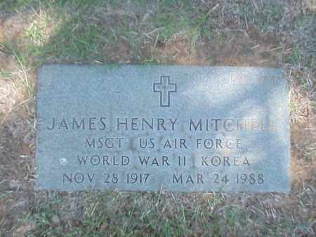 MITCHELL (VETERAN 2 WARS), JAMES HENRY - Pulaski County, Arkansas | JAMES HENRY MITCHELL (VETERAN 2 WARS) - Arkansas Gravestone Photos