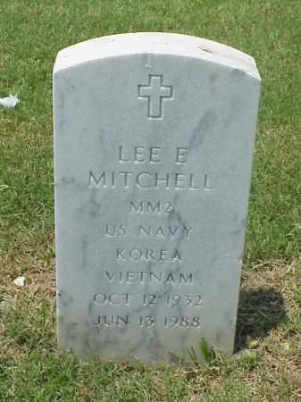 MITCHELL (VETERAN 2 WARS), LEE EDWARD - Pulaski County, Arkansas | LEE EDWARD MITCHELL (VETERAN 2 WARS) - Arkansas Gravestone Photos