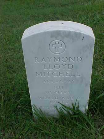MITCHELL (VETERAN 2 WARS), RAYMOND LLOYD - Pulaski County, Arkansas | RAYMOND LLOYD MITCHELL (VETERAN 2 WARS) - Arkansas Gravestone Photos