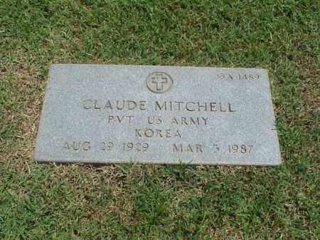 MITCHELL (VETERAN KOR), CLAUDE - Pulaski County, Arkansas | CLAUDE MITCHELL (VETERAN KOR) - Arkansas Gravestone Photos