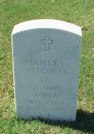 MITCHELL (VETERAN KOR), JAMES L - Pulaski County, Arkansas   JAMES L MITCHELL (VETERAN KOR) - Arkansas Gravestone Photos